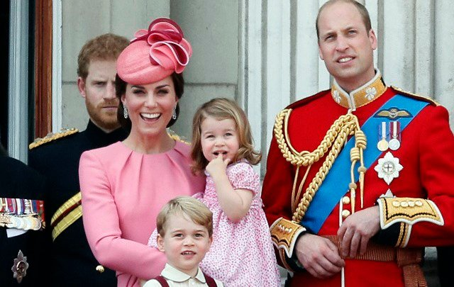 In this file photo dated Saturday, June 17, 2017, members of the British royal family gather on the balcony of Buckingham Palace, after attending the annual Trooping the Colour Ceremony in London. (AP Photo/Kirsty Wigglesworth, FILE)