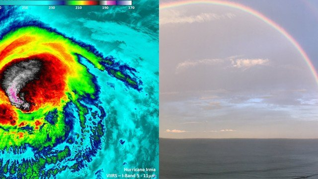 Hurricane Irma predicted to avoid Virginia, moving farther west