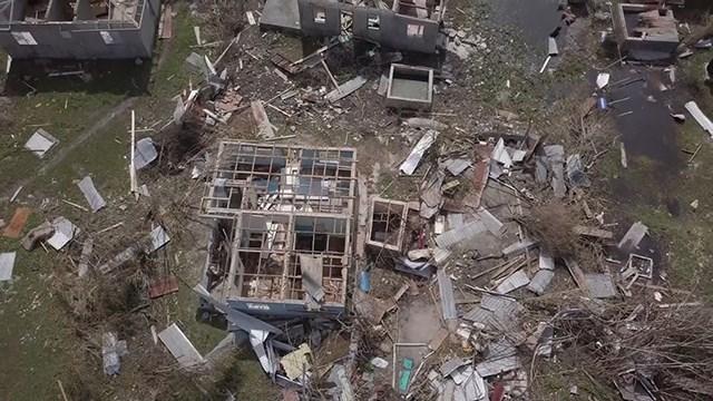 Hurricane Irma devastated the Caribbean island of Barbuda. (CNN)