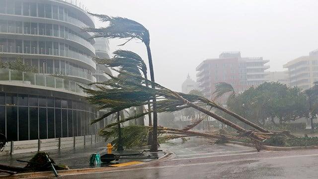 As Hurricane Irma nears, Trump's Mar-a-Lago resort ordered to evacuate