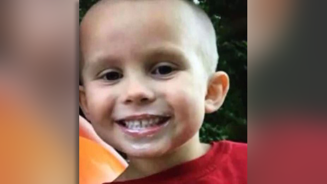 Police discovered the boy of 5-year-old James Spoonamore near where his mother was left for dead. (Source: WKYT/CNN)