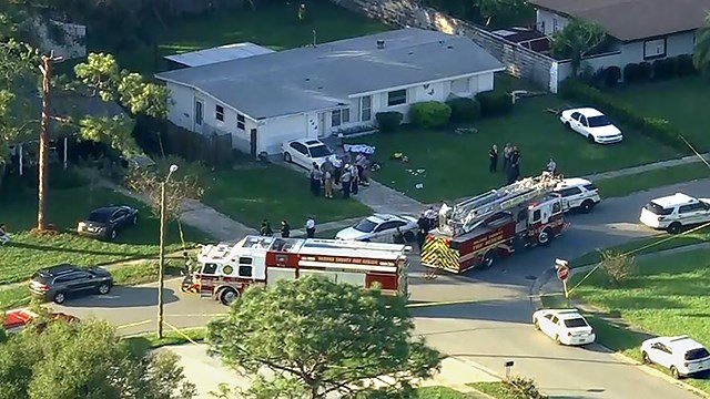 Three people are dead from apparent carbon monoxide poisoning at a Florida home following Hurricane Irma, and four others have been hospitalized. (Source: WKMG via CNN)