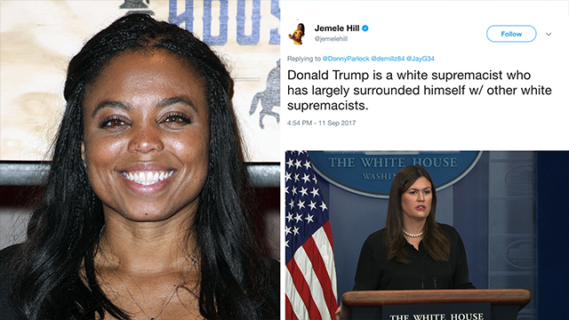 ESPN calls Jemele Hill's Trump comments 'inappropriate'