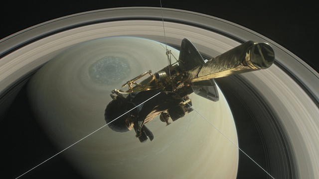 NASA's Cassini spacecraft is no more: It disintegrated in the skies above Saturn early Friday, following a remarkable journey of 20 years. (Source: NASA)