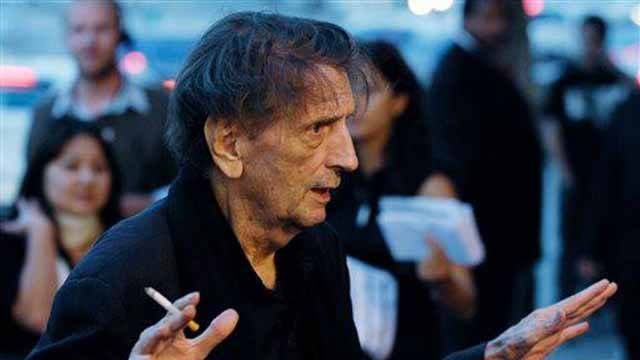 """Actor Harry Dean Stanton arrives at the Los Angeles premiere of the film """"Into the Wild,"""" Tuesday, Sept. 18, 2007. (AP Photo/Chris Pizzello)"""