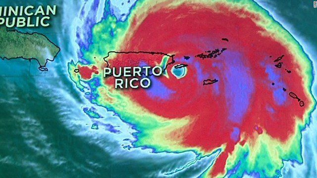 Hurricane Maria, one of strongest hurricanes to ever hit Puerto Rico, made landfall in the U.S. territory as a Category 4 storm. (CNN)