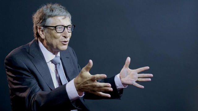 (Source: CNN) Bill Gates is the co-founder of Microsoft.