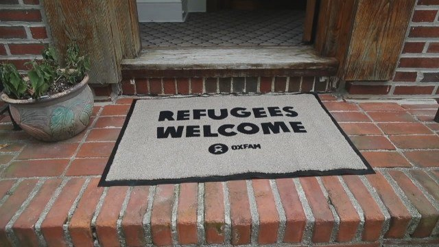 Refugees in Trump's home