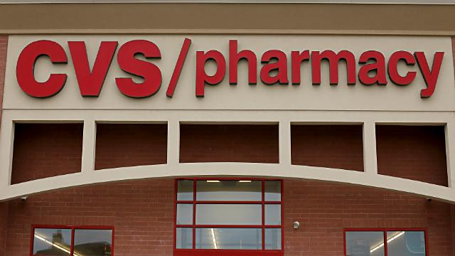 This March 17, 2014 photo shows a CVS/Pharmacy in Dormont, Pa. (AP Photo/Gene J. Puskar)
