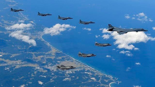 US Bombers Buzz N.Korean Coast
