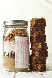 © BH&G - Toffee Blondies in a Jar