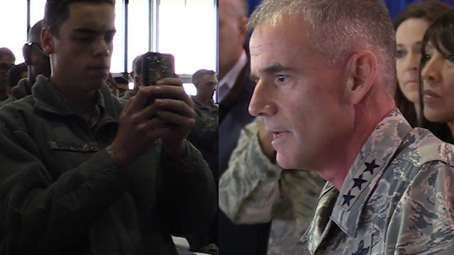 Air Force Academy superintendent addresses racial slurs found on campus