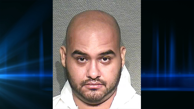 (Houston Police Department via AP, File). This undated photo provided by the Houston Police Department shows Kyriakos Savvas Georghiou. Investigators say the 27-year-old Houston man is accused of decapitating his mother and wounding his father in a sta...