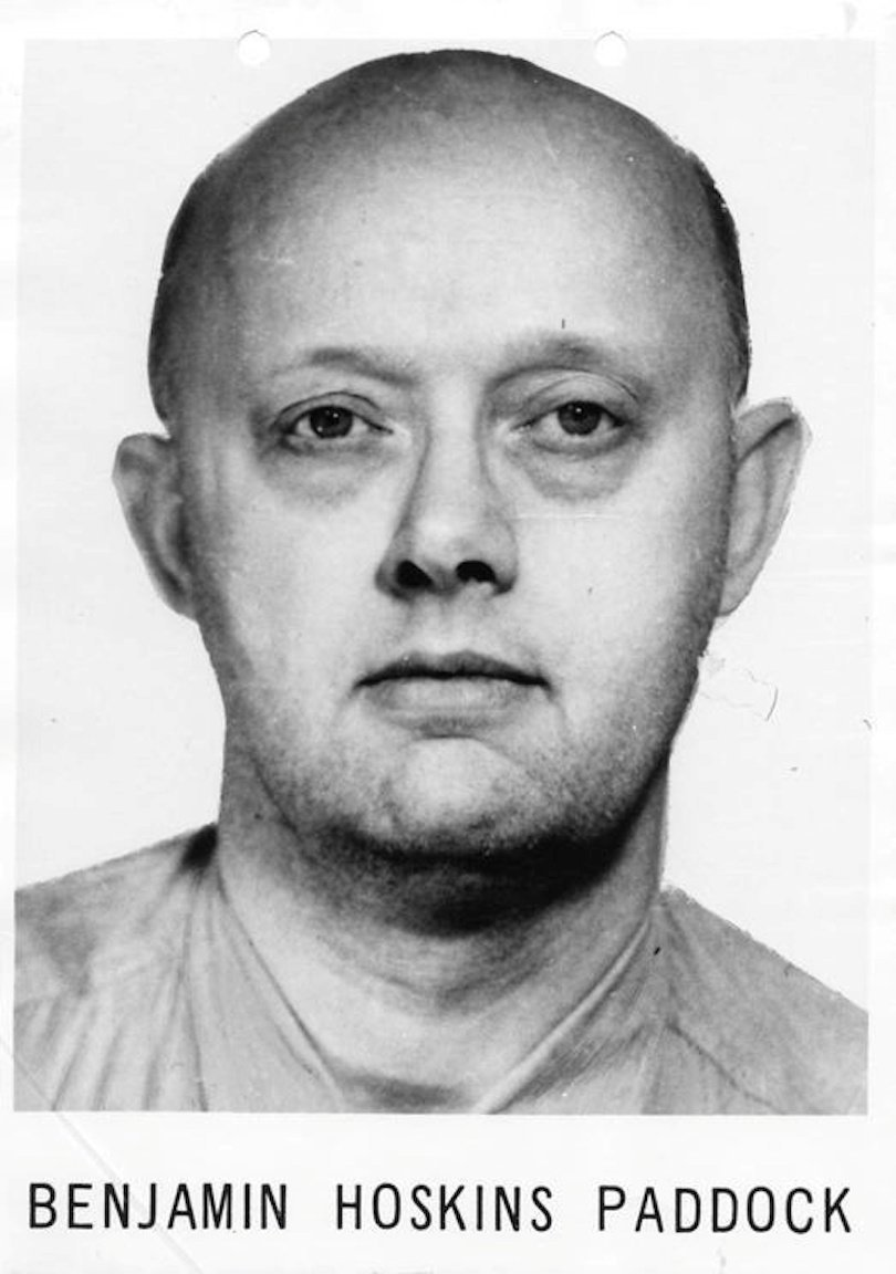 The FBI released this photo of Benjamin Hoskins after he escaped from prison in 1968. (FBI)