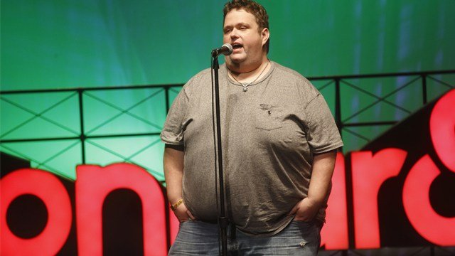 Ralphie May performs at the 2015 Bonnaroo Music and Arts Festival on Saturday, June 13, 2015, in Manchester, Tennessee. (Photo by John Davisson/Invision/AP)