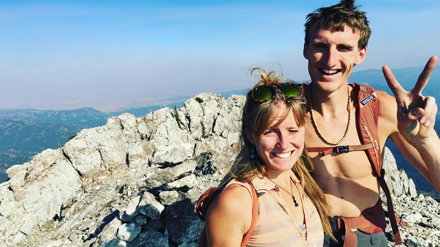 "After losing his girlfriend, Igne Perkins, in the avalanche, Hayden Kennedy ""chose to end his life"" the following day, his family said Tuesday. (Igne Perkins/Instagram)"