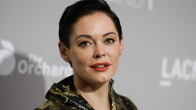 "Rose McGowan arrives at the LA Premiere Of ""DIOR & I"" held at the Leo S. Bing Theatre on Wednesday, April 15, 2015, in Los Angeles. (Photo by Richard Shotwell/Invision/AP)"