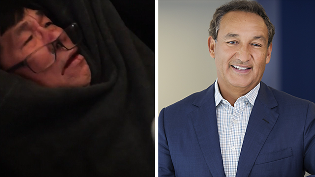 "United Airlines CEO Oscar Munoz apologized for the forcible removal of a paying passenger from one of its flights on April 9th, 2017 and called the episode ""truly horrific."""