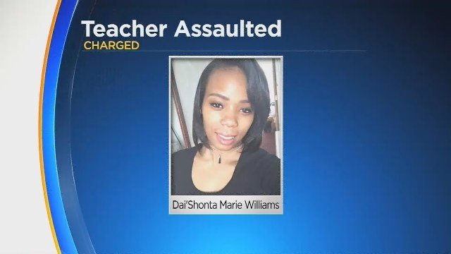 Mom charged with beating teacher after cell phone dispute