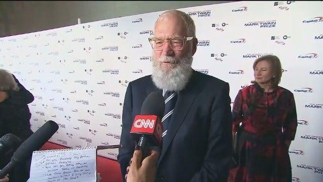 Letterman honored