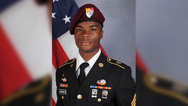 Army Sgt. La David Johnson (AP)