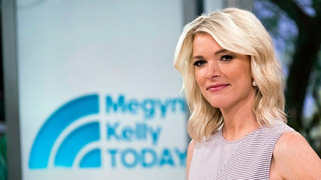 """Megyn Kelly poses on the set of her new show, """"Megyn Kelly Today"""" at NBC Studios. (Photo by Charles Sykes/Invision/AP)"""