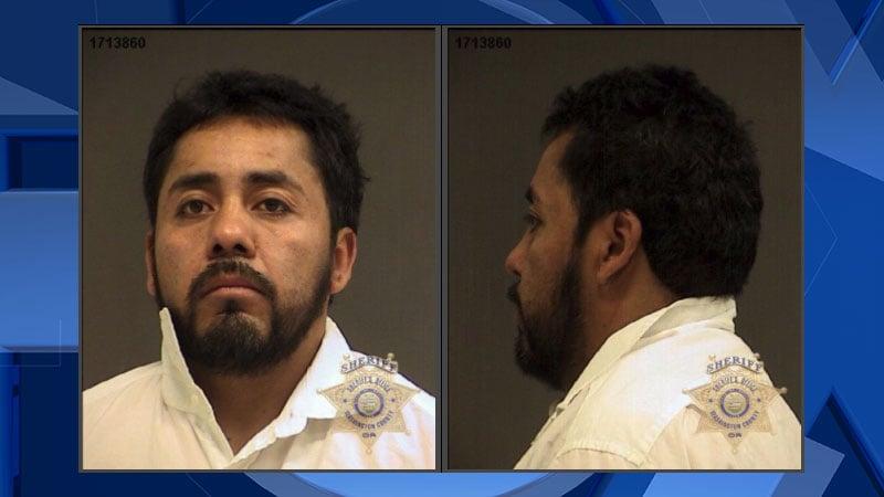 Suspect bites off deputy's finger tip, authorities say