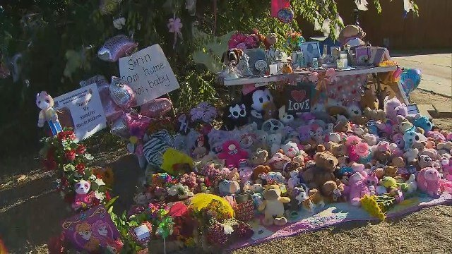 Vigil for missing 3-year-old Sherin Mathews