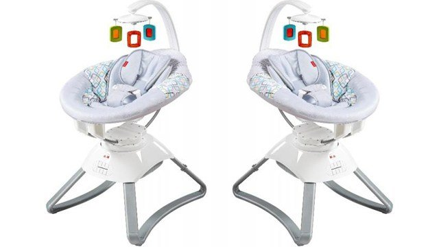 Fisher-Price is recalling their Soothing Motion Seats for infants after discovering the motor can overheat, posing a fire hazard. (Photo: US Consumer Product Safety Commission)