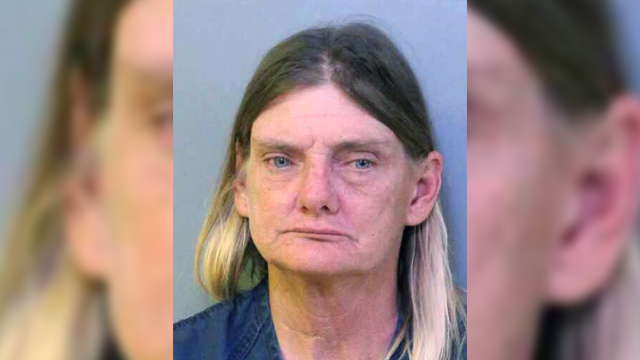 This undated booking photo made available by the Polk County Sheriff's Office shows Donna Byrne, of Lakeland, Fla. (Polk County Sheriff's Office via AP)