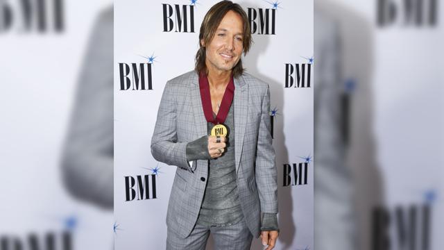 Keith Urban arrives at the BMI Awards at BMI Nashville on Tuesday, Nov. 7, 2017, in Nashville, Tenn. (Photo by Wade Payne/Invision/AP)