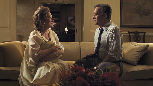 Timely first-trailer release of Spielberg-Streep-Hanks's 'The Post'