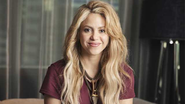 "In this May 16, 2017 photo, Colombian performer Shakira poses for a portrait in New York to promote her 11th album ""El Dorado."" (Photo by Victoria WIll/Invision/AP)"