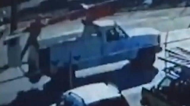 Bucket truck stolen