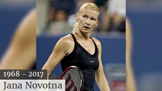 Jana Novotna: Former Wimbledon champion dies aged 49