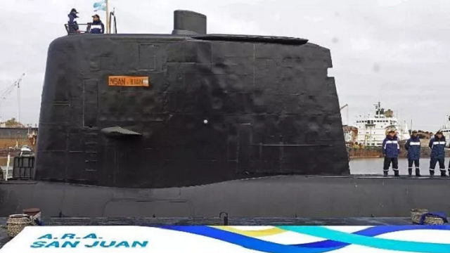 Argentine Navy: 'Noises' not from missing submarine