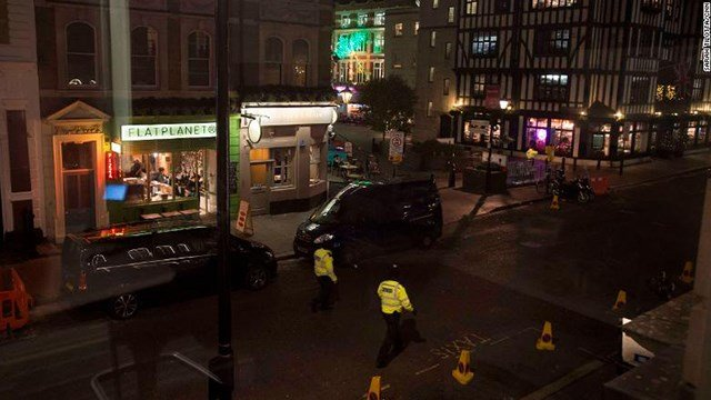 Panic In Central London After Reports Of Incident Near Busy Shopping Street