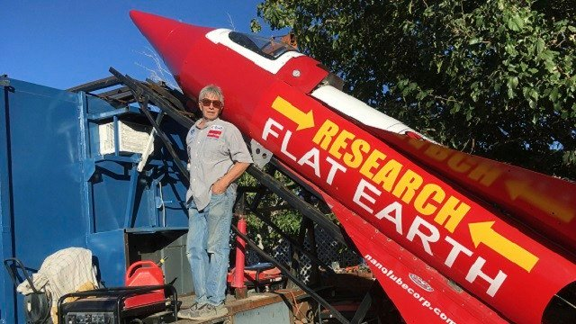 'It's not easy,' says Flat-Earther after homemade rocket launch delay