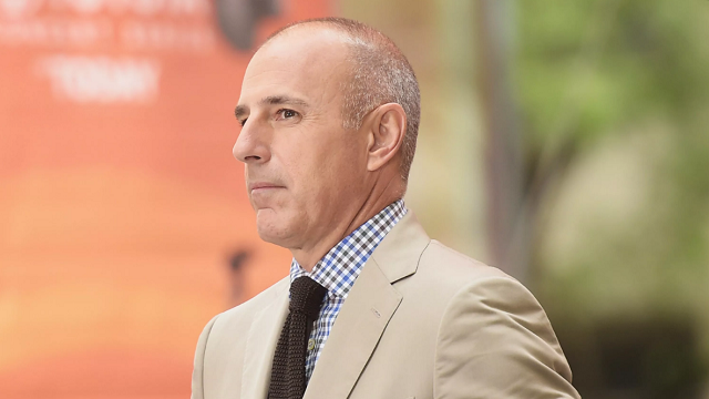 Disgraced 'Today' Show Host Matt Lauer Will Not Recieve Salary Payout