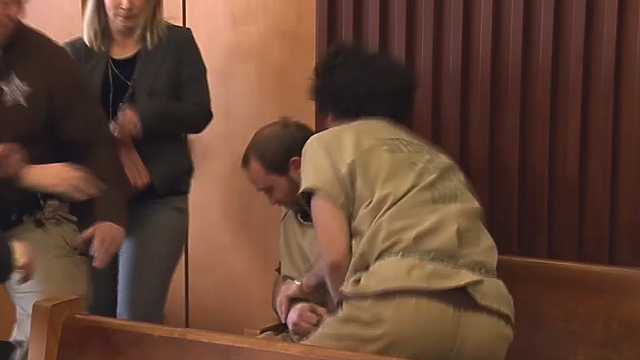 Convicted sex offender attacked in New Hampshire court by another prisoner