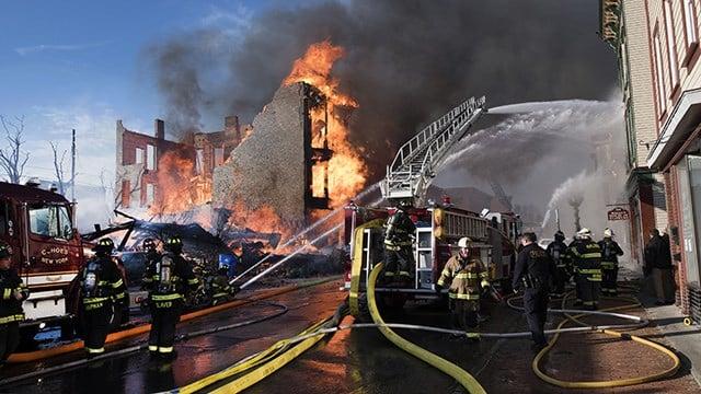 Backyard Blacksmith Ignites Massive Fire
