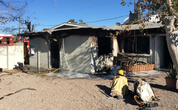 Anival Angulo saved two children from their burning home, officials say. (Las Vegas Fire & Rescue)