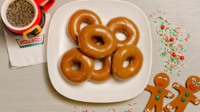 Krispy Kreme Doughnuts is sweetening the season by introducing a first-time, one-day seasonal take on its iconic Original GlazedDoughnut. (Photo Credit: Krispy Kreme, BusinessWire)