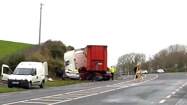 An American family of four was killed Monday in a traffic crash in Ireland. (TV3 via CNN)