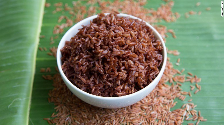 Brown rice can pack a punch of protein.