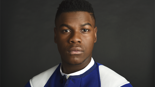 "This Dec. 3, 2017 photo shows John Boyega posing for a portrait during the ""Star Wars: The Last Jedi"" press junket in Los Angeles. (Photo: Jordan Strauss/Invision/AP)"
