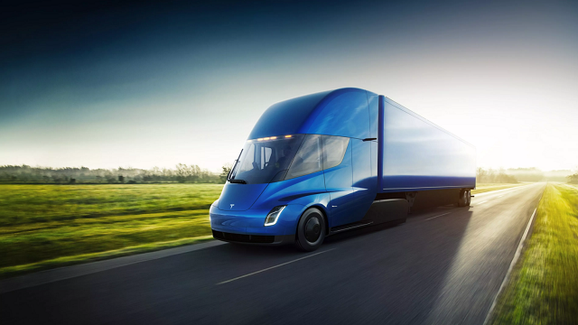 (Source: CNN) Tesla's semi-truck will have up to 500 miles of range, the automaker claims.