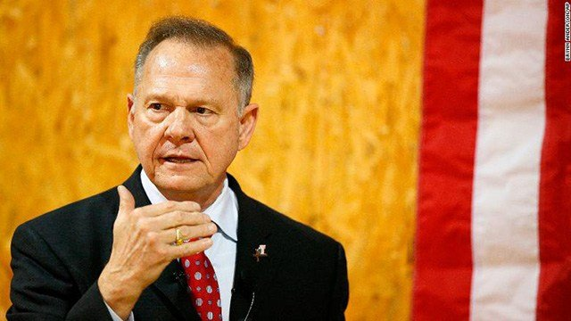 Moore accuser says she made 'notes' in yearbook reportedly signed by Moore