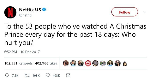 Netflix's 'creepy' tweet reminds us all how closely it's watching us