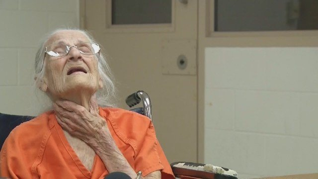 93-year-old woman arrested